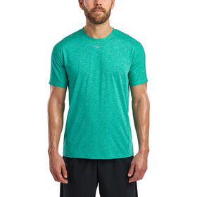 saucony Breakthru Short Sleeve Shirt Men, columbia